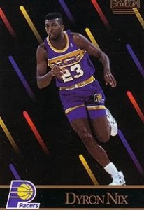 7^ Dyron Nix-SF, 11/02/1967 Meridian (Mississipi), 201 cm, 95 kg, con gli Hornets: selezionato al Draft 1989 al secondo giro con la scelta N°29 ed immediatamente girato agli Indiana Pacers per Stuart Gray, College: Tennessee Volunteers (1985-89).