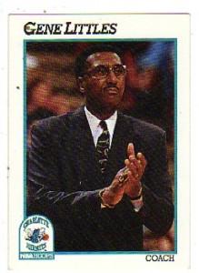 29^ Gene (Eugene Scape) Littles-29/06/1943, Washington (D.C.), 183 cm, 73 kg, 1989-91. Secondo allenatore della storia degli Hornets, 37 V. 87 P.