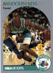 "23^ Randolph Keys ""Rudy""-N°31, SF, 19/04/1966, Collins (Mississipi), 201 cm, 88 kg, 1989-91, squadra precedente: Cleveland Cavaliers, squadra successiva: Treviso Basket, G.76, Pt. 476."