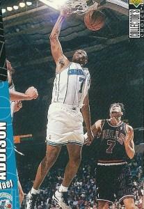 67^ Rafael Addison-N°7, SF, 22/07/1964 Jersey City (New Jersey), 200 cm, 95 kg, 1995-97, squadra precedente: Detroit Pistons, squadra successiva: PAOK Salonicco, G. 94, Pt. 299. http://www.youtube.com/watch?v=a9u5Nj_av5A&feature=youtu.be Addison gioca quattro anni in Italia con Livorno, dal 1987 al 1991 totalizza 119 presenze con i toscani, mentre nel 1994, dopo un'esperienza biennale ai New Jersey Nets, torna in Italia e gioca 14 partite per i verdi di Treviso. Dopo un anno ai Pistons ne gioca due con gli Hornets, ed è qui che chiude la propria carriera NBA.