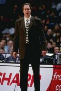 "78^ Dave (David William) Cowens ""Big Red""-Coach, 25/10/1948 Newport (Kentucky), 206 cm, 104 kg, 1996-98, Regular Season: G. 179, V. 109, P.70, Playoffs: G.12, V. 4, P. 8. http://www.youtube.com/watch?v=v0PNkwSFm48&feature=youtu.be"