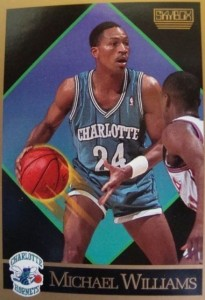 64^ Michael (Douglas) Williams-N°24, PG, 23/07/1966, Dallas, 188 cm, 79 kg, 1989-90, squadra precdente: Phoenix Suns, squadra successiva: Indiana Pacers, G. 22, Pt. 151.