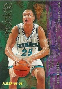 """76^ Jiří Zídek """"George""""-N°25, C, 02/08/1973 Zlin (Repubblica Ceca), 213 cm, 110 kg, 1995-97, squadra precedente: scelto dagli Charlotte Hornets nel Draft 1995 al primo giro alla posizione N°22, squadra successiva: Denver Nuggets, G. 107, Pt. 372. http://youtu.be/8Bo6pQWqKqY"""