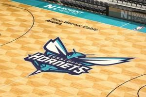 Parquet Hornets 2014-..., logo centrale.