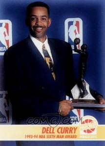 6° Man Of The Year: Dell Curry (1994 Charlotte Hornets).