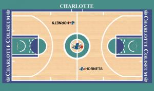 Parquet Hornets 1990-1993.