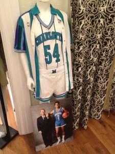 Charlotte Hornets, divisa casalinga. Solo 1988/89.