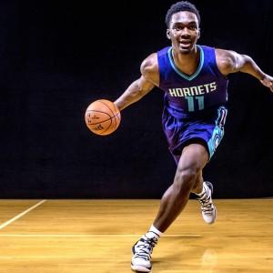 Noah Vonleh, dal college con gli Indiana Hoosiers, agli Charlotte Hornets nella NBA.