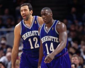 Mason e Divac, la coppia di Charlotte che sapeva giocare a basket.
