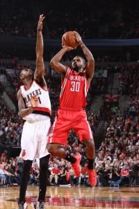 Troy Daniels con i Rockets.