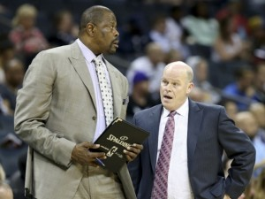 Patrick Ewing e Coach Steve Clifford.