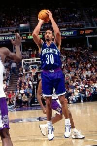 Dell Curry il 12 gennaio 1197 @ Sacramento.