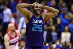 Al Jefferson, trentenne centro degli Charlotte Hornets anche per la prossima stagione.