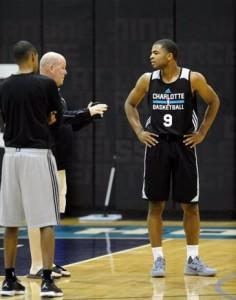 Harrison con coach Clifford, sul quale sembra abbia fatto un'ottima impressione.