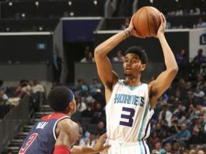 Jeremy Lamb. 18 punti nella notte. Top scorer degli Hornets in un attacco equilibrato.