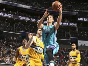 Lin con 16 punti è stato il secondo miglior marcator di serata per Charlotte.